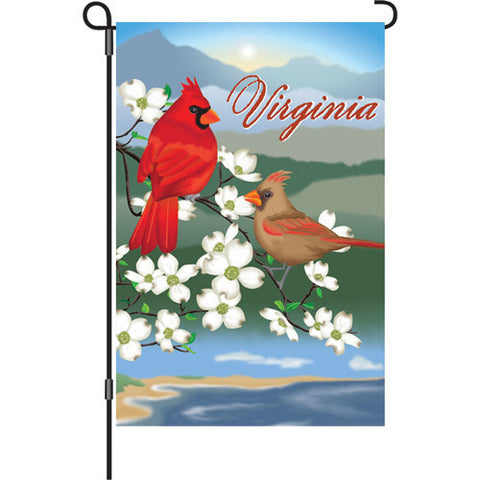 12 in. Virginia Garden Flag - Virginia