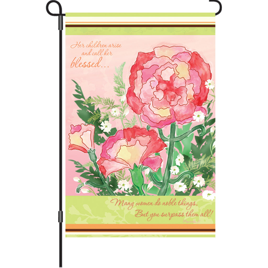 12 in. Mother's Day Garden Flag  - For Mom