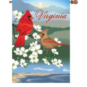 28 in. Virginia House Flag - Virginia