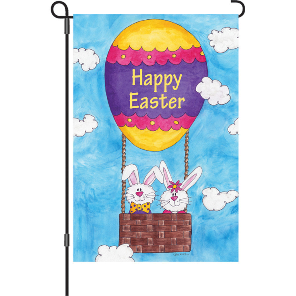 12 in. Easter Garden Flag - Easter is in the Air