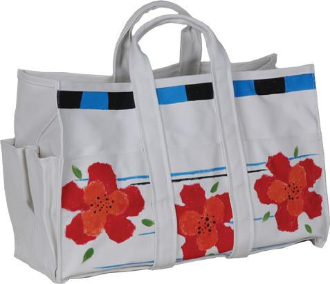 Canvas Tote Bag & Gloves - Petit Fleur