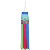 28 in. Windsock - Turtle at the Pond