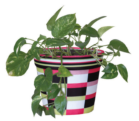Flower Pot Cover - Pink Deco
