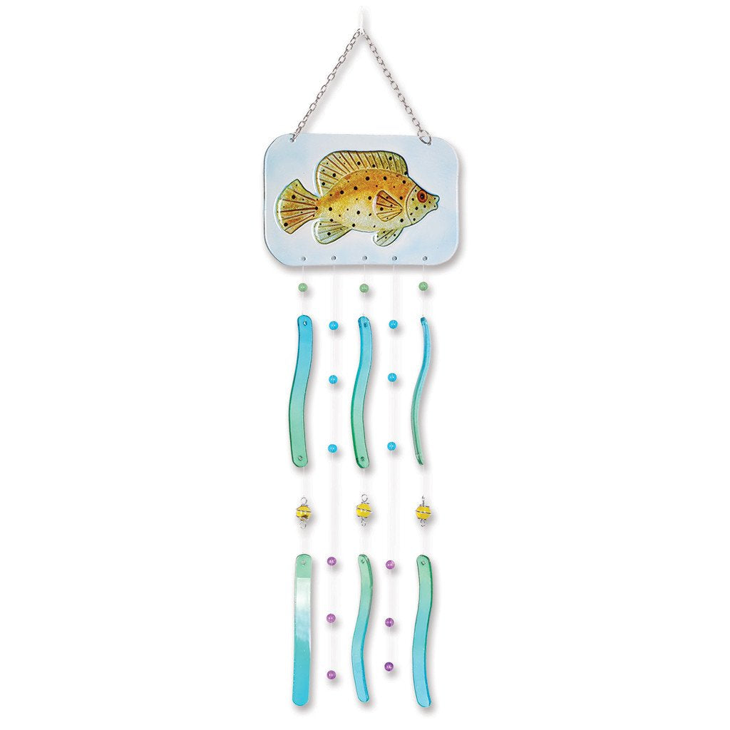 Fish Wind Chime - Spotted Grouper