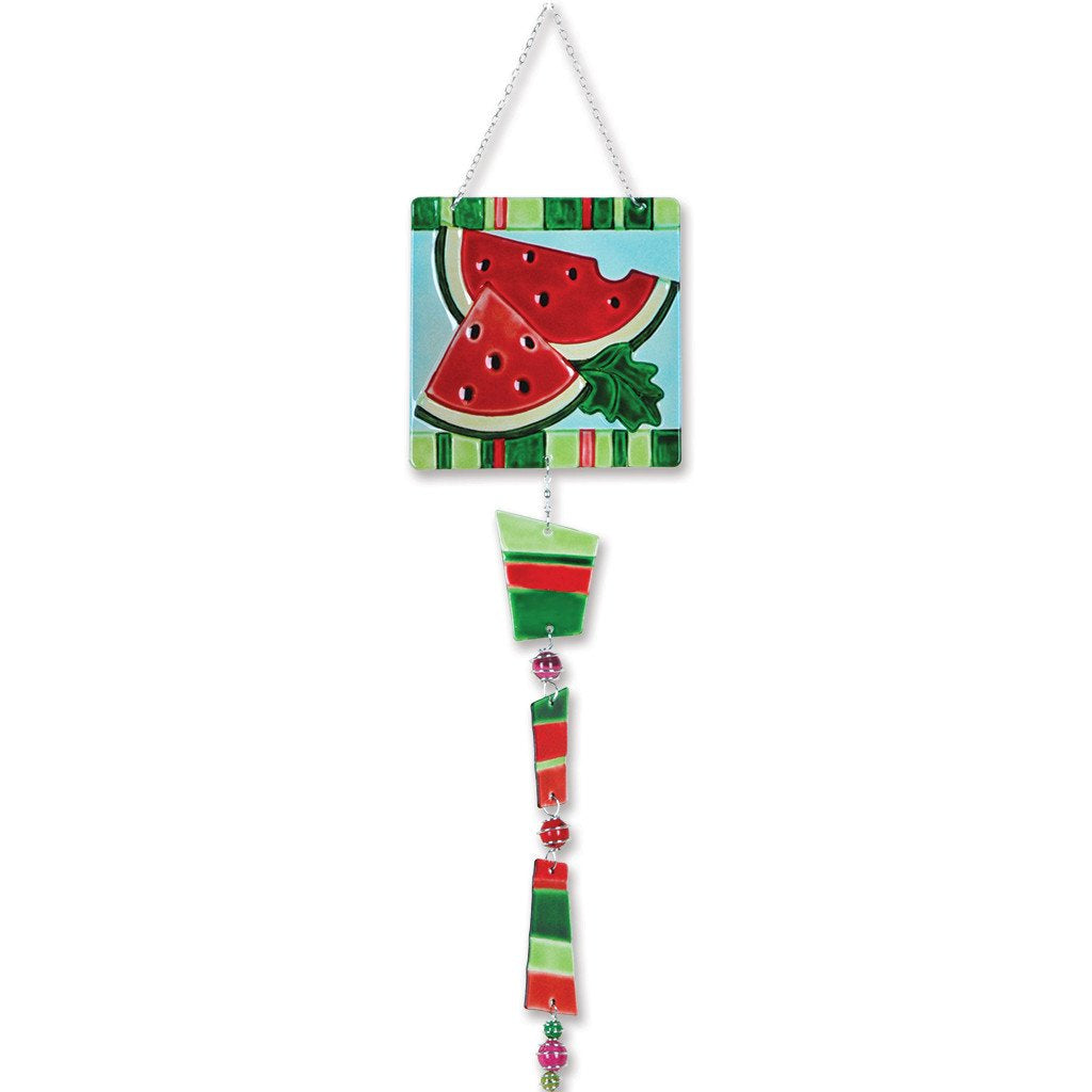 Glass Sun Catcher Mobile - Watermelon