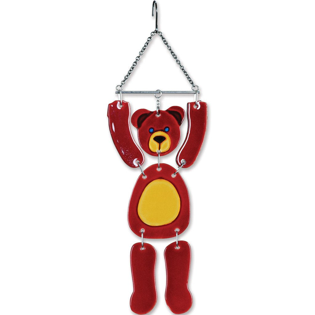 Glass Critter Mobile - Bear