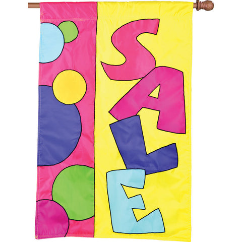 SALE Applique Flag - Festive Design