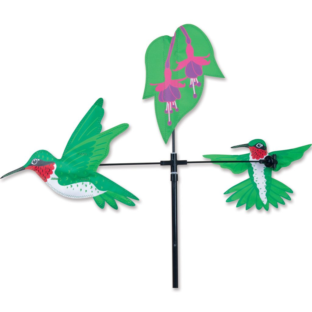 Single Carousel Spinner -  Hummingbirds