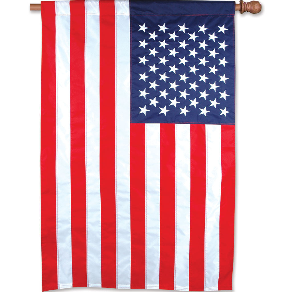 36 in. Applique American Flag - U.S.A.