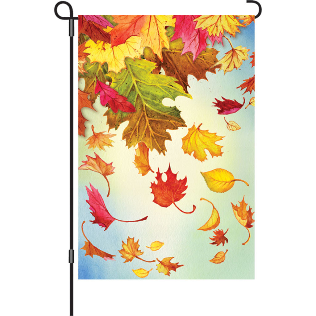 12 in. Fall Garden Flag - Autumn Leaves