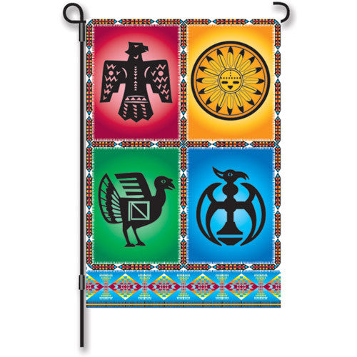12 in. Southwestern Garden Flag - Wind Dancers