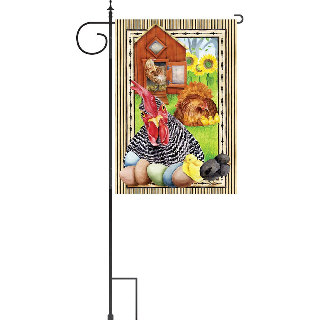 3 pc. Deluxe House Flag Stand