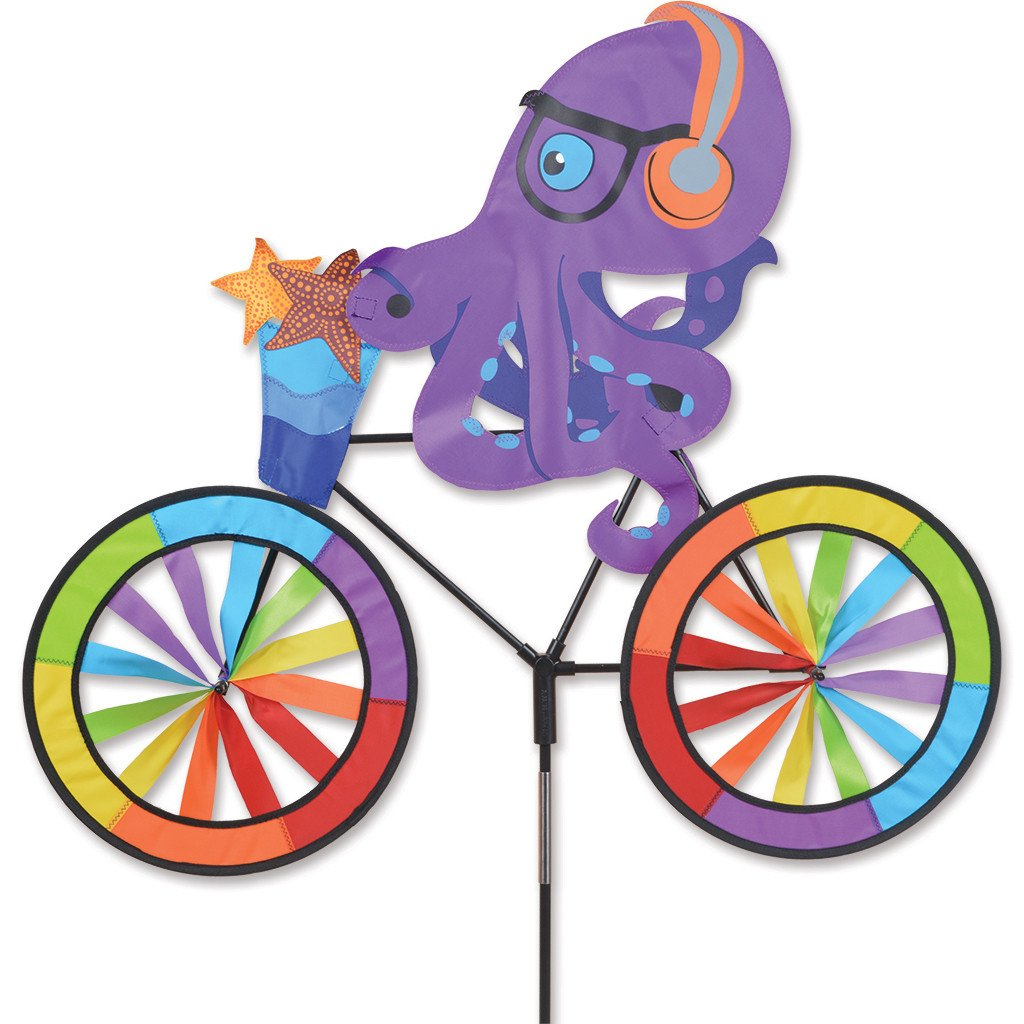30 in. Bike Spinner - Octopus