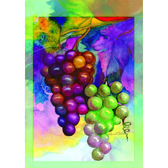 12 in. Vineyard Garden Flag - Colors Of Autumn