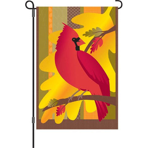 12 in. Autumn Garden Flag - Golden Fall