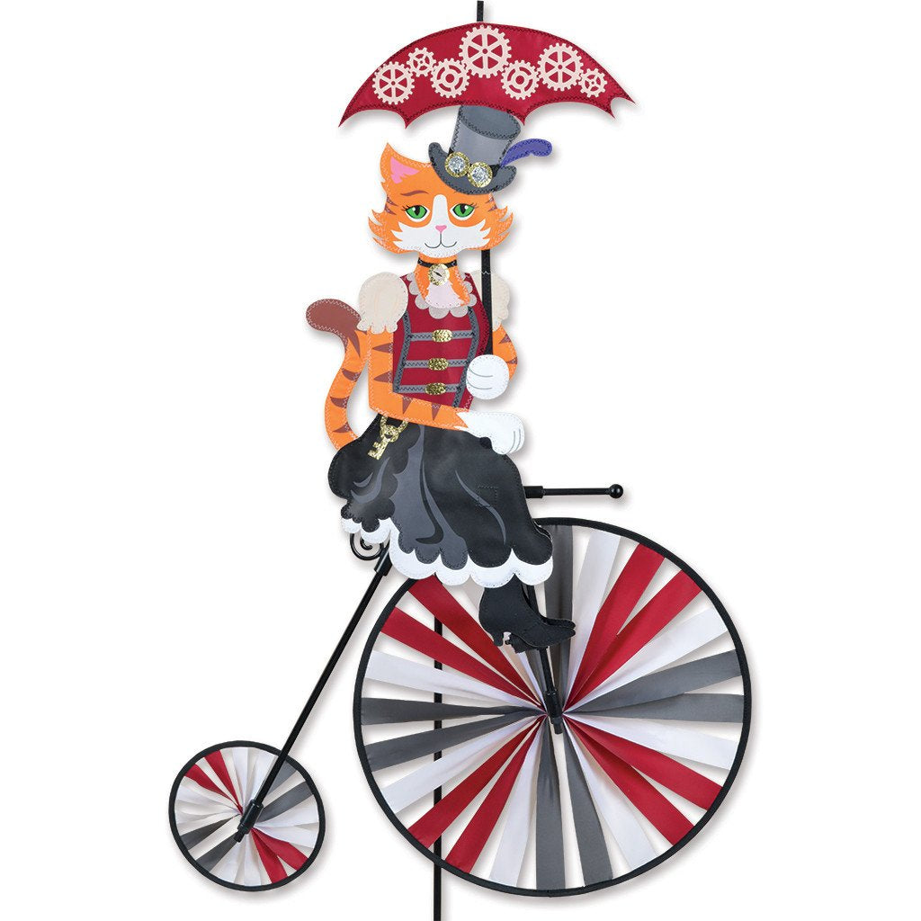 High Wheel Bike - Steampunk Kitty