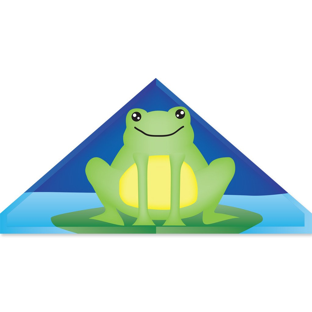 56 In. Delta Kite - Froggy (Bold Innovations)