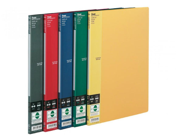 Display Book Side - 20 Pockets - Blauw - Displaybook