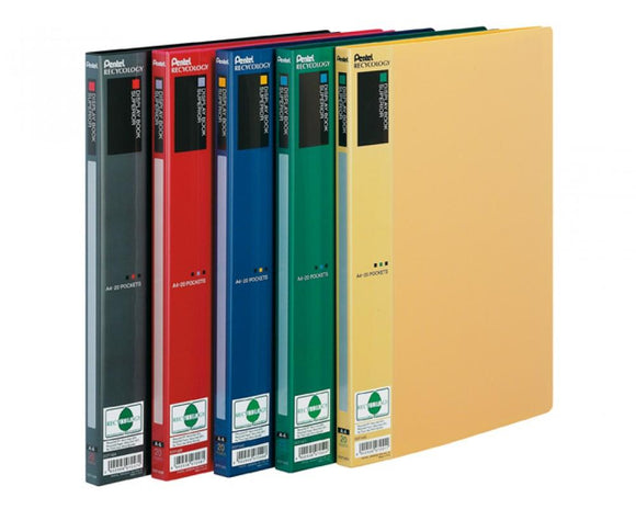 Display Book Superior - 20 Pockets - Geel - Displaybook