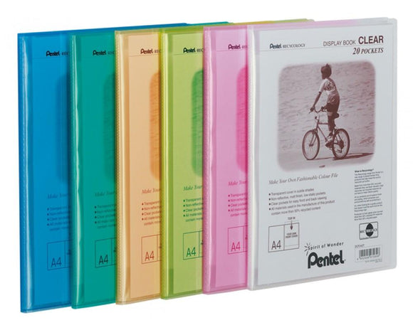 Pentel Display Book Clear - Displaybook