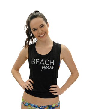 Beach Please Muscle Tank