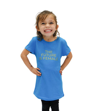 Future is Female Graphic Tee - Girls