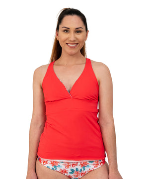 Nan Reversible Tankini Top