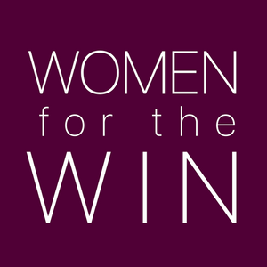 Women for the Win Vinyl Sticker