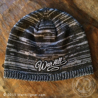 Women's Two-Tone Knit Beanie