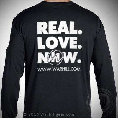 REAL LOVE NOW long sleeve T-Shirt