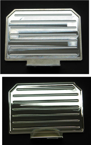 Cab guard - Machined Aluminum or Chromed