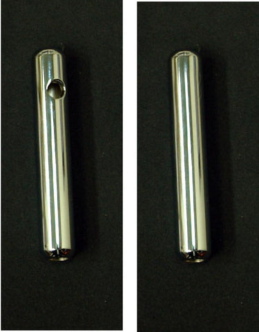 Muffler - Chromed  (with or without mounting hole option)