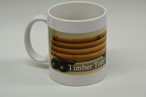 Coffee Mug - Official Timber Toter with logs
