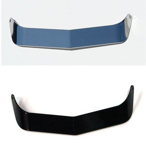Visor - Polished Stainless Steel Mirror Finish or Black