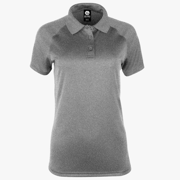 #F121 / Titanium Heather Women's Polo