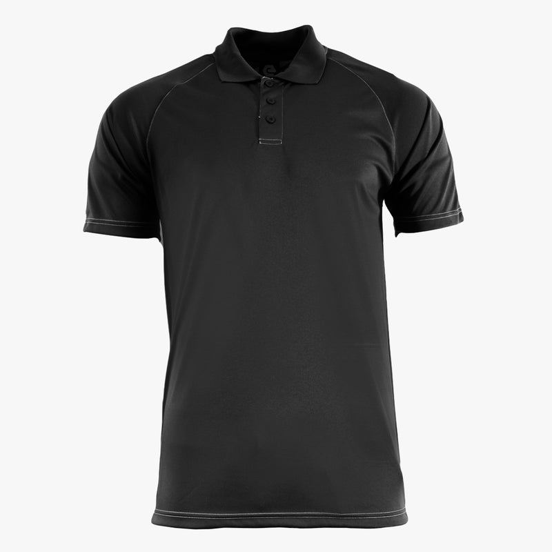 #E127 / Basic Training Men's Striped Polo with Contrast Stitching