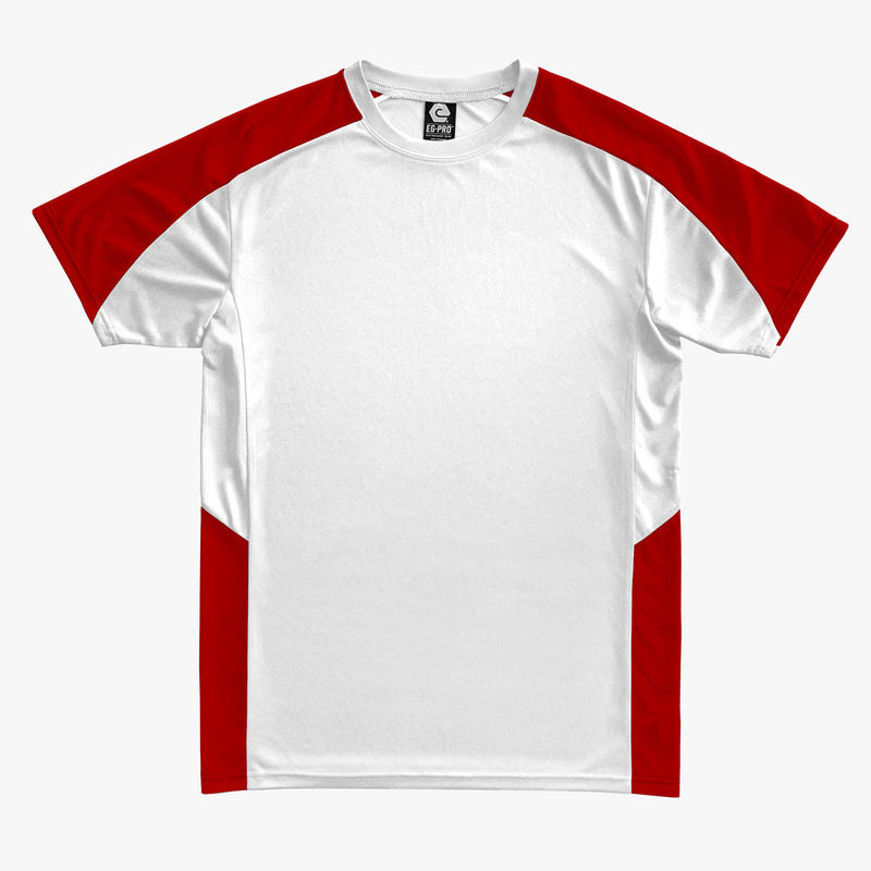#E142 / Basic Training Men's Color Block Top (EXTRA COLORS)