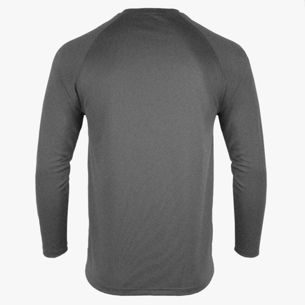 #F224 / Titanium Heather Men's LS Tee