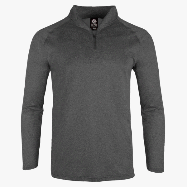 #F225 / Titanium Heather Men's Solid 1/4 Zip
