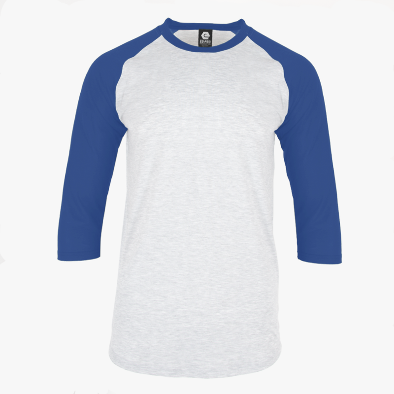 #H226Y / Varsity 3/4 Youth Sleeve Baseball Tee