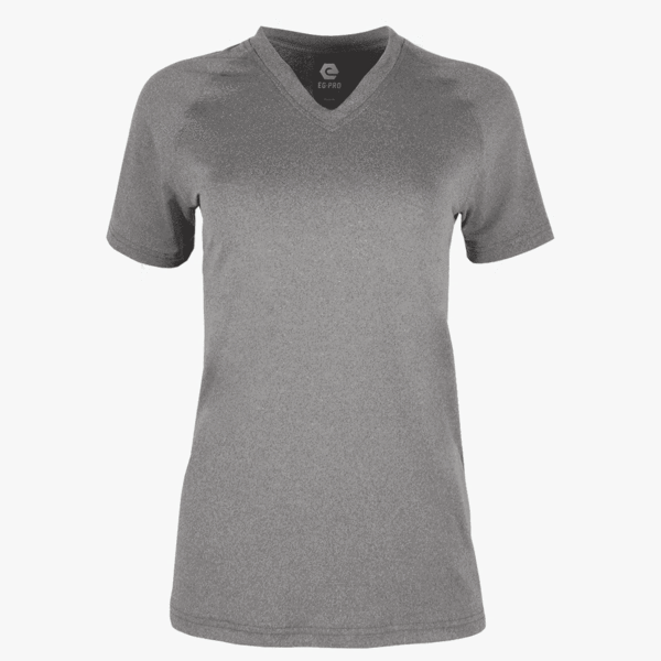 #K125 / Evo Heather Women's V-Neck Tee