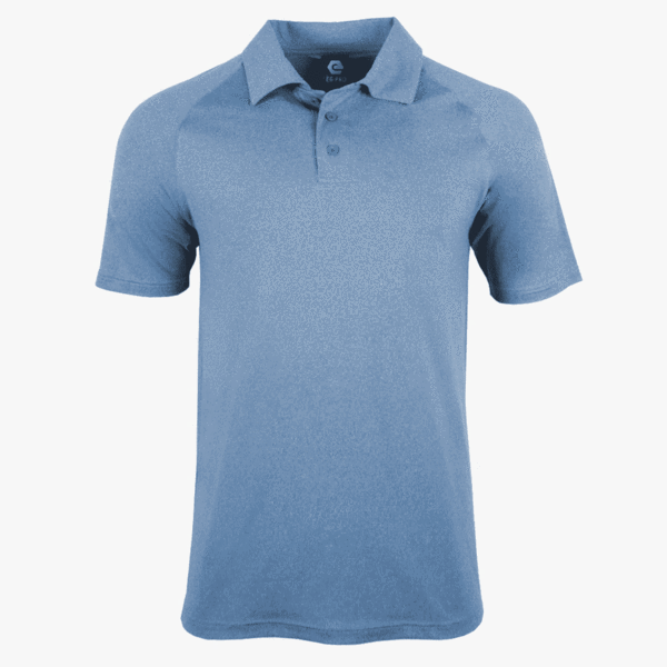#K132 / Evo Heather Polo