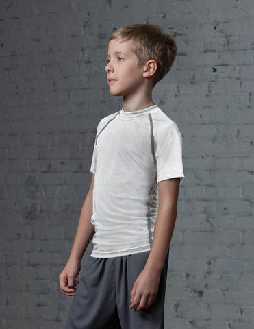 #T222Y / Enduro Flex Youth LS Compression Tee