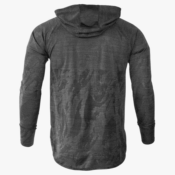 #U212 / Covert Camo LT WT Droptail LS Hoodie (Unisex) - Available 4/25