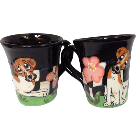 Beagle | Garden Theme | Dog Mugs