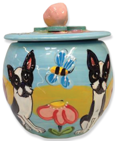 Boston Terriers Pottery