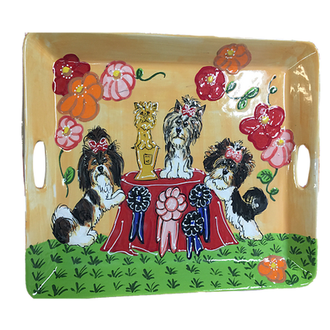 Biewer | Dog Show Trophy Serving Tray