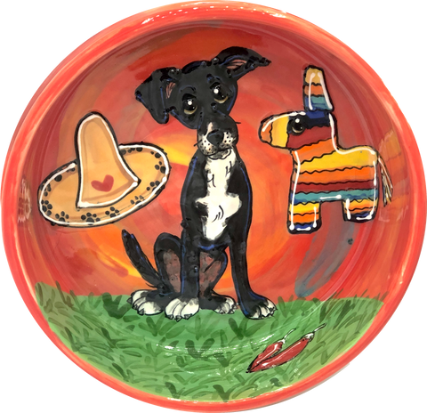 Mix Breed | South of the Border | Dog Bowl