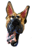 German Shepherd | Dog Face