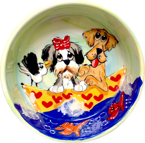 DOG BOWL WITH NAME